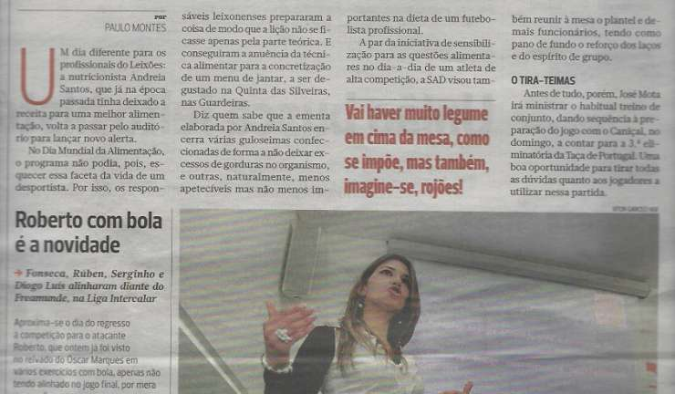 Jornal A Bola